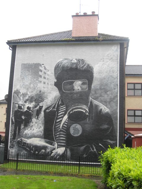 Mural in Derry/Londonderry, Northern Ireland
