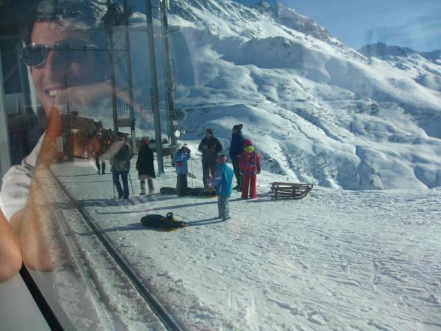 Swiss sledders