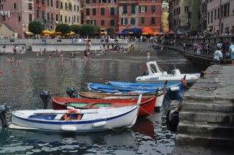 Boats in Monterosso