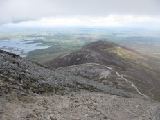 Trails on Croagh Patrick