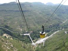 Cable car to Montserrat
