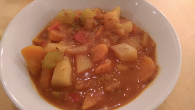 Vegetarian Goulash