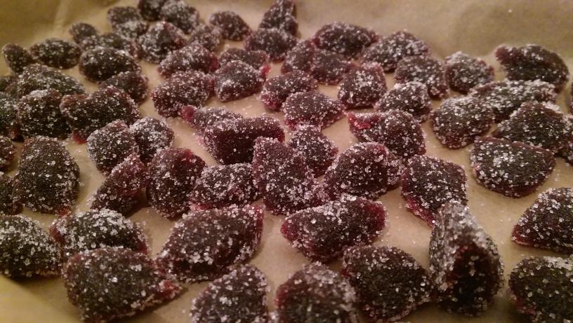 Blackberry Pastilles