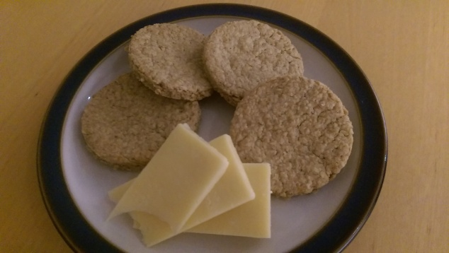 Oatcakes and cheddar